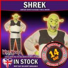 FANCY DRESS COSTUME # MENS SHREK COSTUME MEDIUM